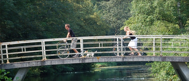 kick bike stadspark